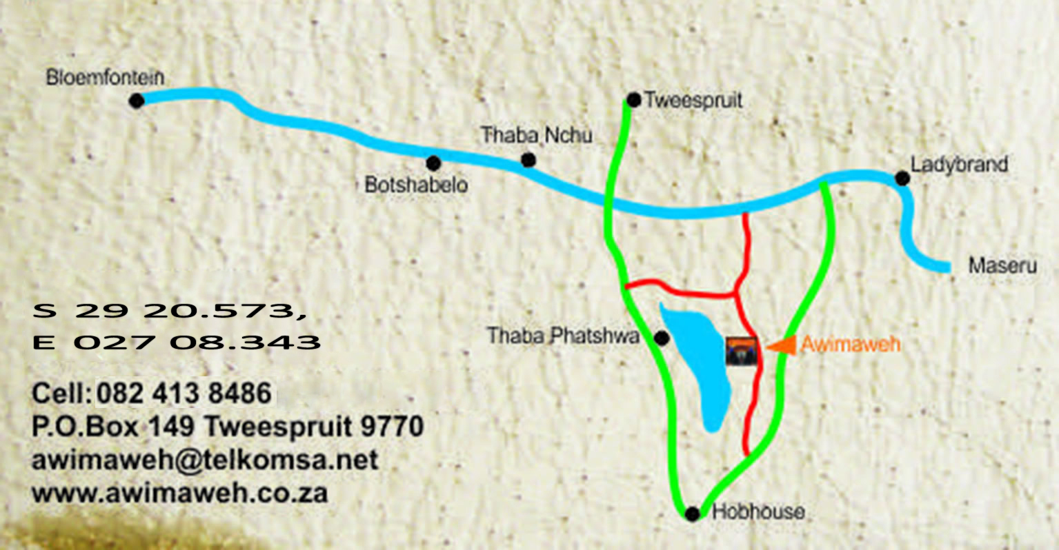 Awimaweh Map to awimaweh location